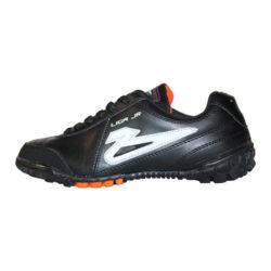 Zapatos de Fútbol Rápido Olmeca Liga 8 JUNIOR NEGRO NARANJA
